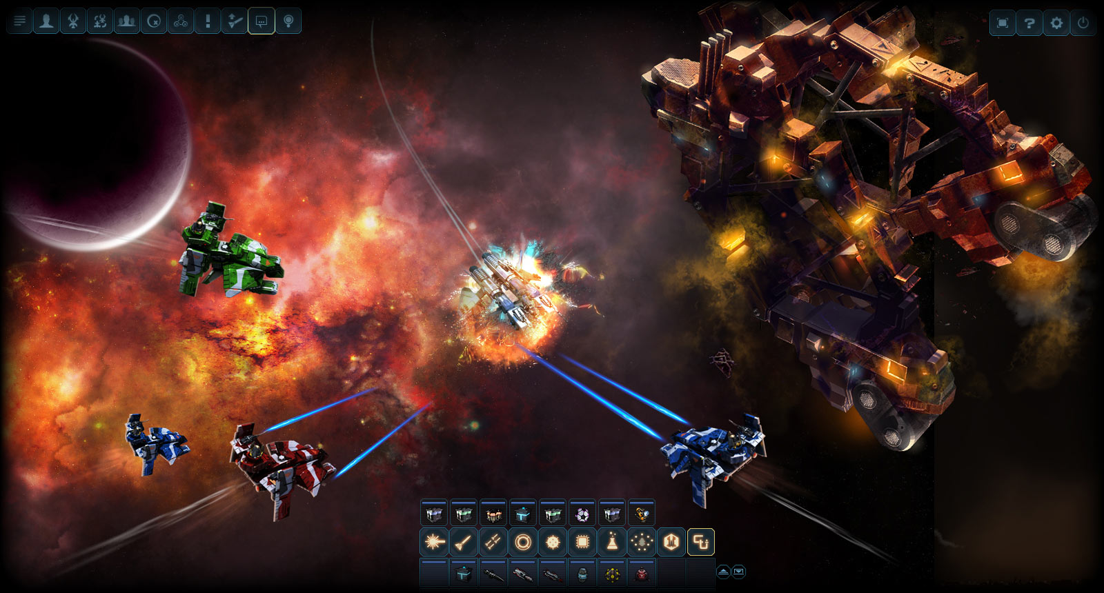 DarkOrbit Reloaded screen shot