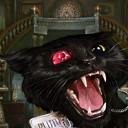 Dark Tales: Edgar Allan Poe's The Black Cat - Monsieur Mark Davies' wife is missing and now it's up to you to find her in the hidden object game Dark Tales: Edgar Allan Poe's The Black Cat! - logo