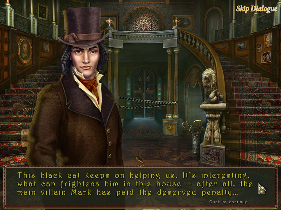 Dark Tales: Edgar Allan Poe's The Black Cat screen shot