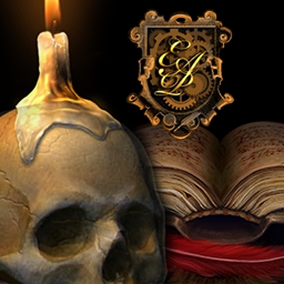Dark Tales: Edgar Allan Poe's Murders in the Rue Morgue - Solve a dreadful murder and catch a killer! Dive into this famous mystery in Dark Tales:  Edgar Allan Poe's Murders in the Rue Morgue! - logo