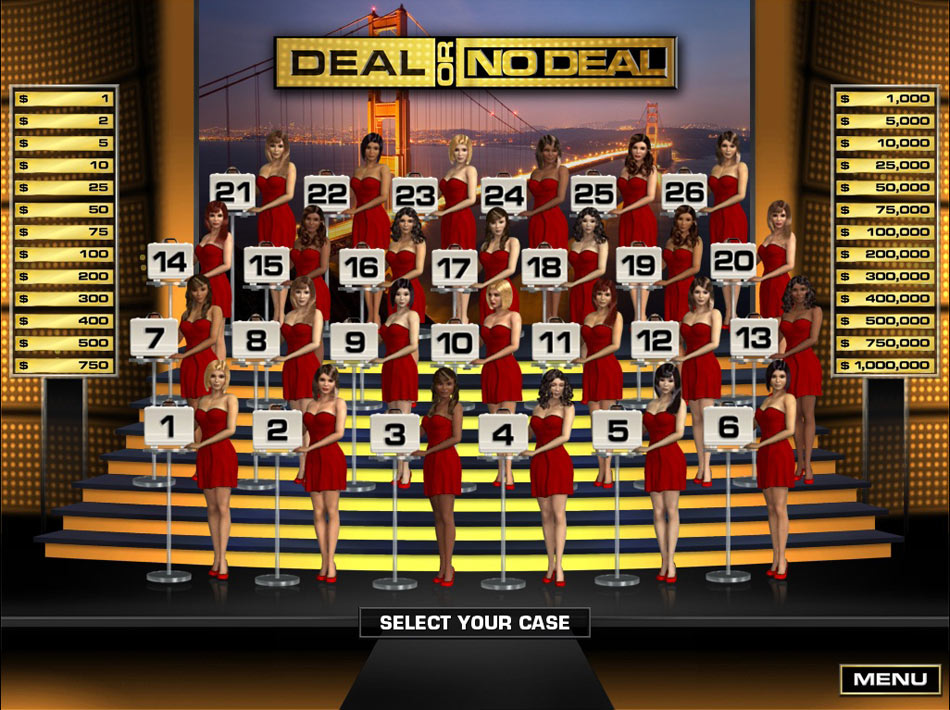 Deal or No Deal screen shot