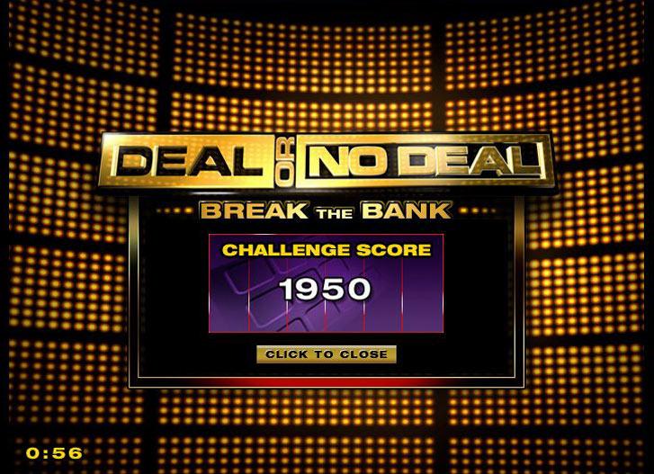 Cash Tournaments - Deal or No Deal screen shot