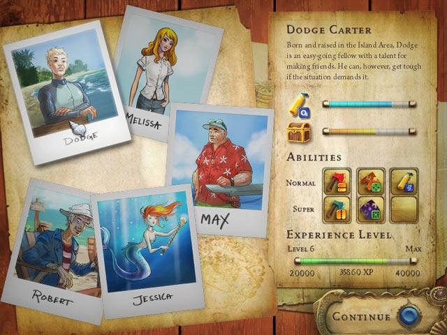 Deep Blue Sea 2 - The Amulet of Light screen shot