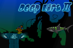 Run and swim in Deep Lift 2, a FREE online game. Locate and retrieve underwater treasure!