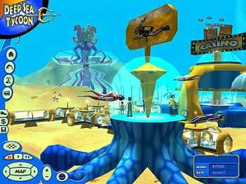 Deep Sea Tycoon screen shot