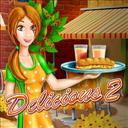 Delicious 2 Deluxe - logo