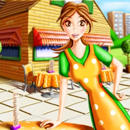Delicious Deluxe - Roll up your sleeves for fast restaurant fun in Delicious Deluxe! - logo