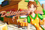 Roll up your sleeves for fast restaurant fun in Delicious Deluxe!