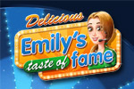 Emily's back & ready for a Taste of Fame in the latest Delicious adventure!