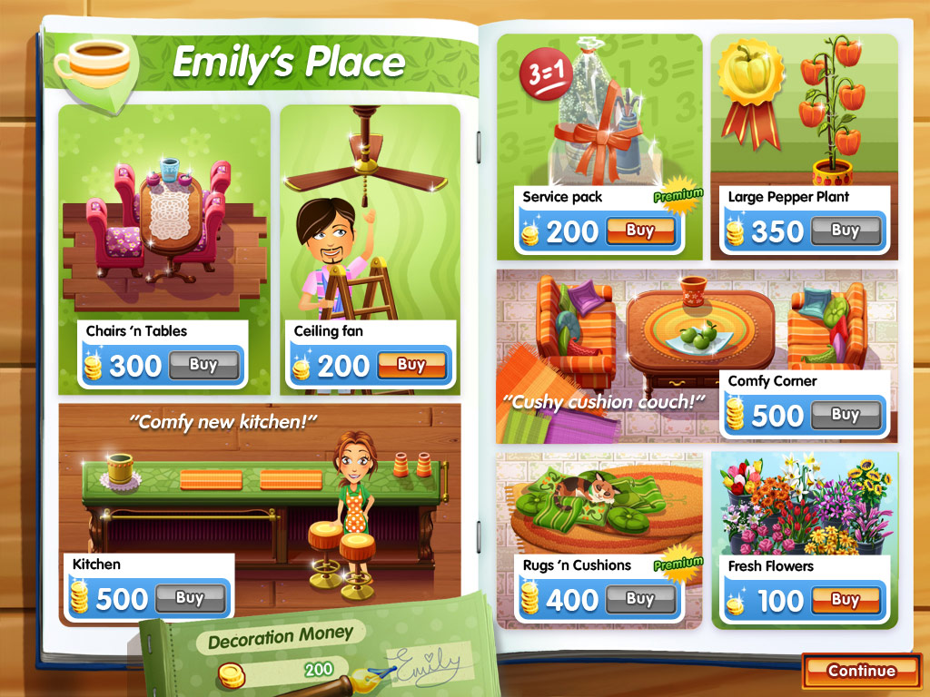 Delicious: Emily's True Love Premium Edition screen shot