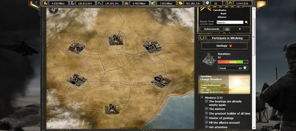 Desert Operations screen shot
