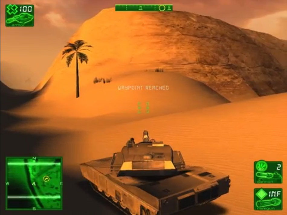 Desert Thunder screen shot
