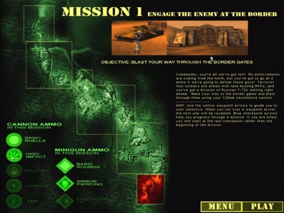 Desert Thunder screen shot