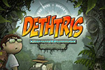 Embark on a grand platforming adventure with awesome powers in Dethtris!