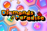 Defeat your opponent by creating a chain of diamonds. Use special weapons to gain more firepower. Play Diamonds Paradise today!