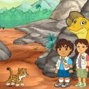 GO Diego GO! Dinosaur Rescue - logo