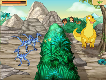 GO Diego GO! Dinosaur Rescue screen shot