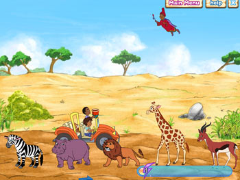 Diego's Safari Adventure screen shot