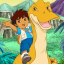 Diego's Dinosaur Adventure - logo