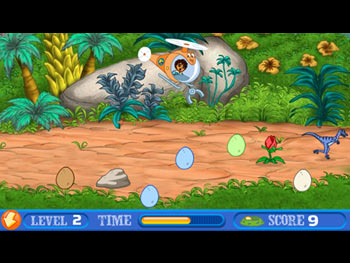 Diego's Dinosaur Adventure screen shot
