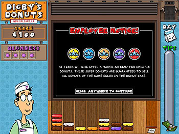 Digby's Donuts screen shot