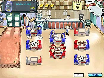 Diner Dash screen shot