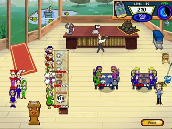 Diner Dash 2 Restaurant Rescue screen shot