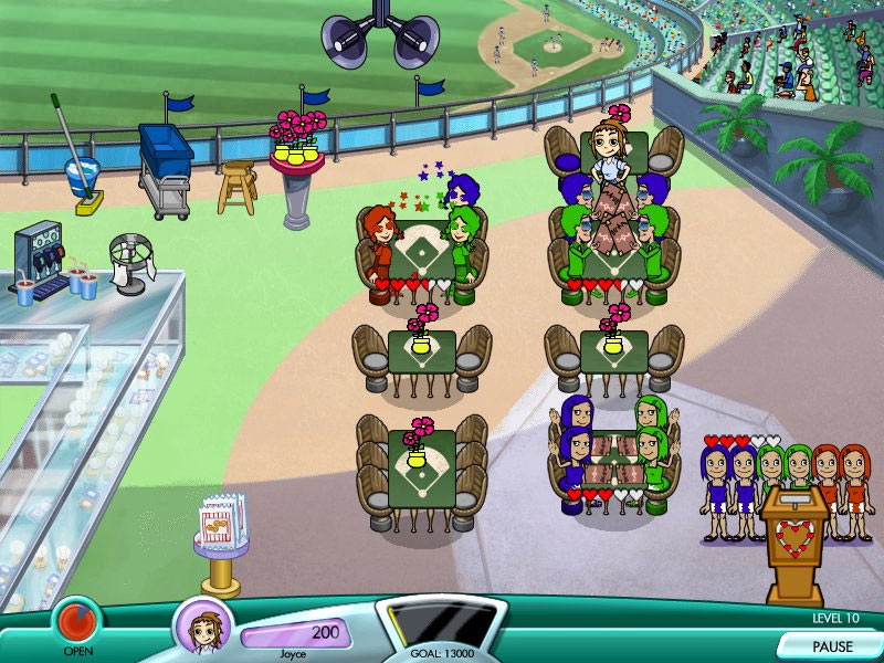 Diner Dash Hometown Hero screen shot
