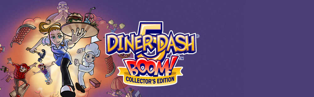 Diner Dash 5 - Boom! The Collector's Edition