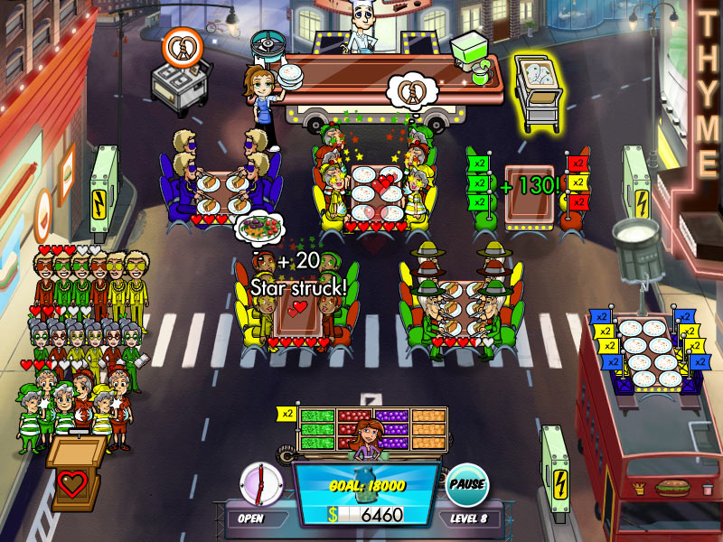 Diner Dash 5 - Boom! The Collector's Edition screen shot