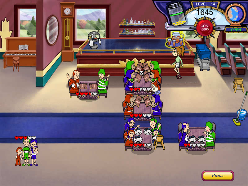Diner Dash - Flo on the Go screen shot