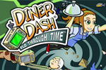 A toaster-turned-time machine starts off Diner Dash: Flo Through Time™!