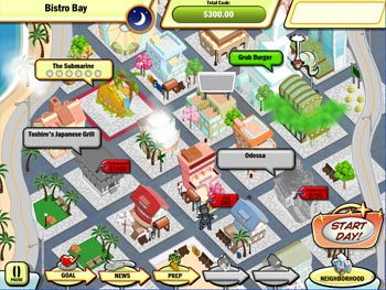 DinerTown Tycoon screen shot