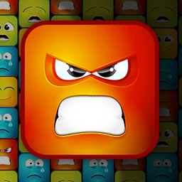 Disharmony Blocks - Are you ready to unleash your emotions?  Help restore balance in this exciting match 3 game, Disharmony Blocks! - logo