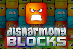 Are you ready to unleash your emotions?  Help restore balance in this exciting match 3 game, Disharmony Blocks!