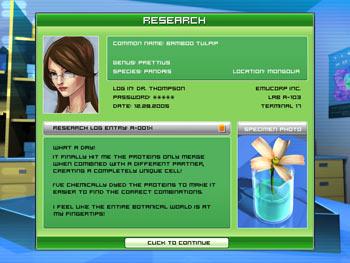 DNA screen shot