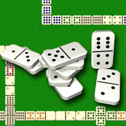 Domino Master - You're sure to fall for this master hit - 7 knockout games! - logo