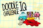 If you're smarter than a toaster and your brain power is more than the average rocking horse, then play Doodle IQ Challenge on Android today!