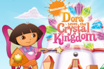 ¡Ayuda a Dora a restaurar el color en el mundo en Dora Saves the Crystal Kingdom!
