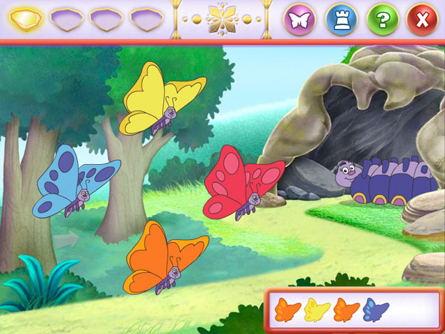 Dora Saves the Crystal Kingdom screen shot