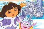 Learn with Dora the Explorer™ in Dora Saves the Snow Princess!