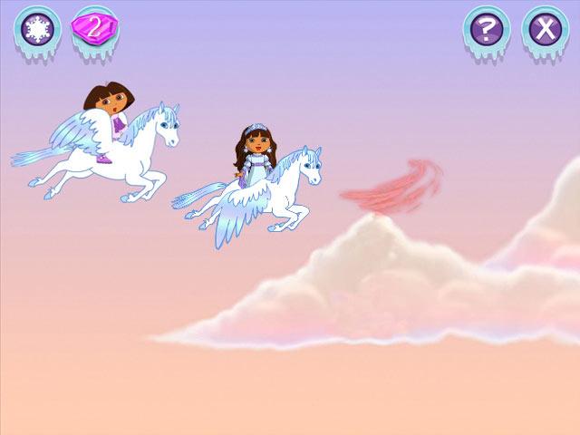 Dora Saves the Snow Princess screen shot