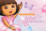 In Dora's Ballet Adventures, Dora and Boots are preparing for their big dance performance. Help them find their slippers!