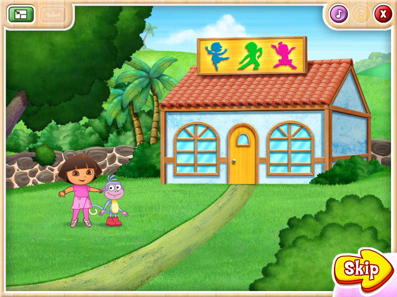 Dora's Ballet Adventures screen shot