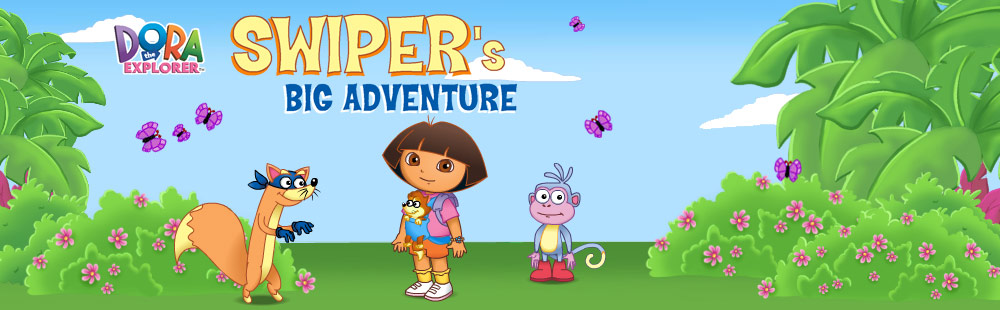 Dora the Explorer - Swiper's Big Adventure