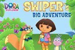 Help Dora and Swiper get a baby fox home in Swiper's Big Adventure!