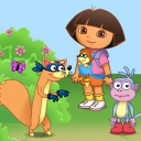 Dora the Explorer - Swiper's Big Adventure - logo