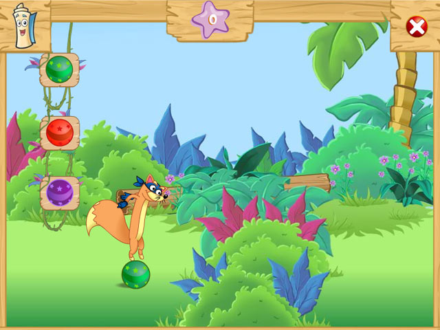 Dora the Explorer - Swiper's Big Adventure screen shot