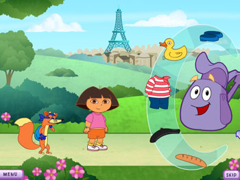 Dora's World Adventure screen shot