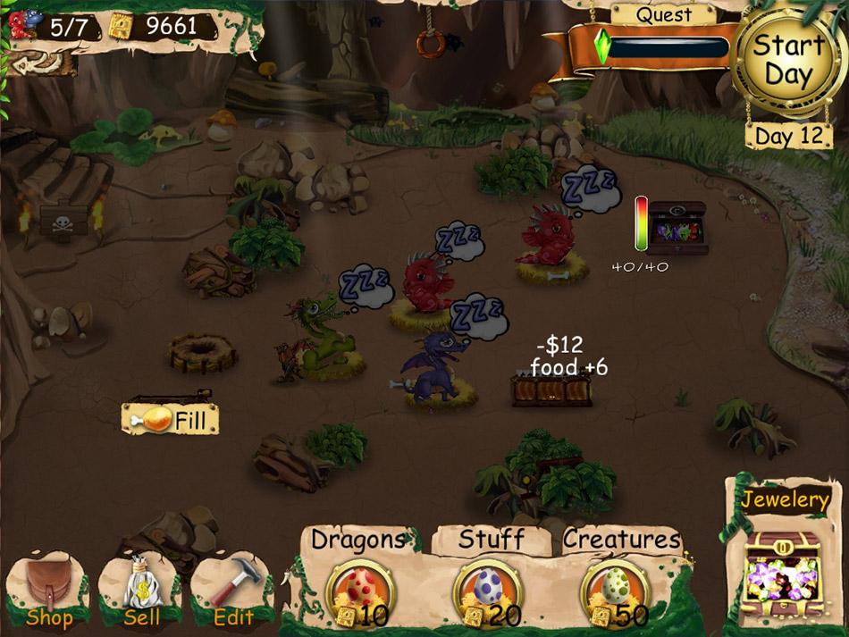 Dragon Keeper screen shot